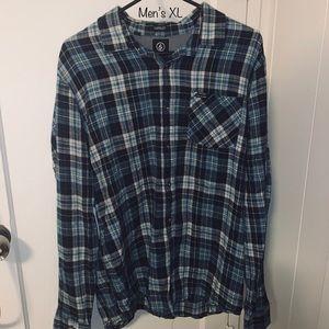 Men's Volcom flannel